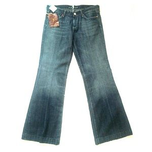 7 for all mankind dojo jeans sz 30